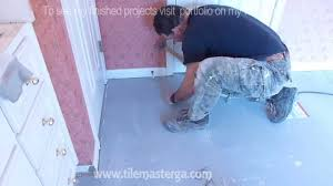 part 2 how to install tile backer board on wooden subfloor