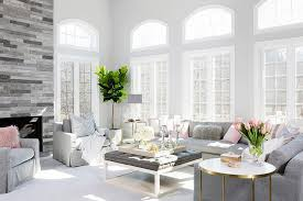 pink and gray living room color scheme transitional living room