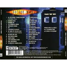 Halloween 2007 Soundtrack List by Doctor Who Original Soundtrack Series 3 Murray Gold Bbc