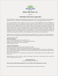 Electrician Apprentice Resume Awesome Electrical Lineman Examples