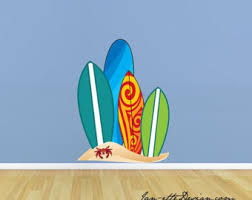 Decorative Surfboard Wall Art by Surfboard Quilt Pattern Moondoggie