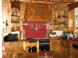 cuisine style chalet aménagement de cuisine