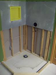 imposing design installing tile shower merry part 1 how to install