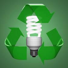 fluorescent light bulb recycling iron