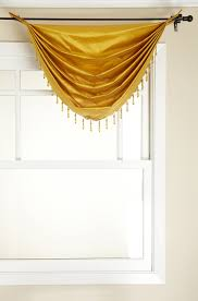 Waterfall Valance Curtain Set by Amazon Com Stylemaster Tribeca Faux Silk Grommet Waterfall