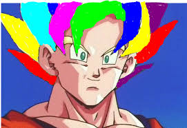 Rainbow SS The Super Saiyan