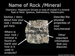 Name Of Rock Mineral Chemistry Magnesium Silicate Or Type Crystal If A