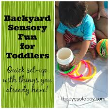 Backyard Sensory Fun For Toddlers - The Eyes Of A Boy Outdoor Game Ideas Kid Crafts And Fun Things To Do Pinterest 25 Unique Ocean Games Ideas On Whale Shark Allergyfriendly Backyard Water Party Water Yard Yahtzee Yard 20 Clever Ways Use A Pool Noodle Noodles Noodles Diy Games For Kids Para As Crianas 1440 Best Spring Summer Acvities Images 93 Fine Motor 17 For Family Diy Layout Backyard 1 Kid Pool 2 Medium Pools Large Spiral These Fun Funny Minute Win It Are Perfect Your Learning Tv