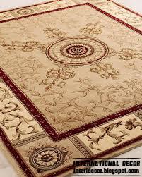 Luxury Classic Beige Carpet Rug Model