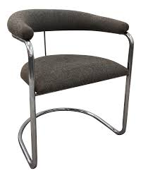 100 1960 Vintage Metal Outdoor Chairs Thonet Chrome Cantilever Chair Chairish