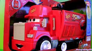 Wheelies Cars Mack Truck Hauler Radiator Springs Playset Disney ...