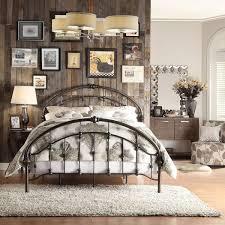 Vintage Bed Frame Rustic Antique Metal Bedroom Furniture Victorian Cast Iron Loo