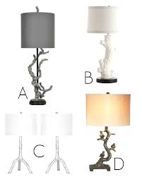 Lamp Shades Bed Bath And Beyond by Table Lamp Tree Branches With Buy Branch From Bed Bath Beyond And