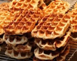gaufres de liège so much better than regular belge waffles pearl