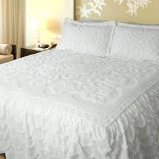 King Size Bed Comforters by Ative White Bedspread King Bed Set Twin Coverlet Coccinelleshow Com