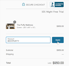 Puffy Mattress Promo Discount Code - Save $300! | Sleepopolis How To Create Coupon Code In Magento Store Can I Add A Coupon Code Or Voucher Honey Cloudways Promo Voucherify Promotion Management Software For Digital Teams Vultr And Free Trial Information 2019 Detailed Review 100 Working Codes Google Cloud Brandvoice The Problem With Native