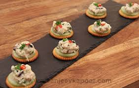 crab canapes how to crab canapes recipe by masterchef sanjeev kapoor