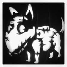 Fireman Pumpkin Carving Stencils by Sparky From Frankenweenie Pumpkin Took 1 5 Hours My Life