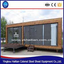 100 Container House Price Modified Container Coffee Shop Prefabricated