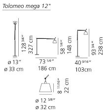 Tolomeo Mega Floor Lamp Canada by Artemide Tolomeo Mega Floor Lamp Gr Shop Canada