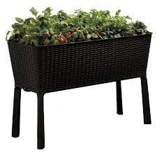keter easy grow raised garden bed hayneedle