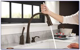 Delta Touch Faucet Troubleshooting by Delta Touch Kitchen Faucet Battery Faucets Home Design Ideas