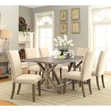 Athens 7 Piece Dining Set By Infini Furnishings 2