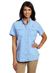 amazon com columbia women u0027s bahama short sleeve shirt sports