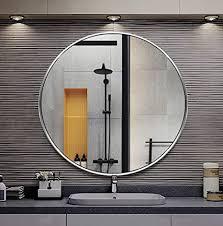 runder spiegel zur wandmontage moderner de