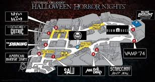 Halloween Horror Nights Express Pass by Could This Be The Map For Halloween Horror Nights 27 Unofficial