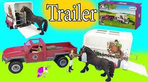 Schleich Horses Club Truck And Horse Trailer Playset With Friesian ... Bruder 02749 Man Tga Cattle Transportation Truck With 1 Cow New Breyer Horse And Trailer Breyer 5356 Stablemates Gooseneck In Box Traditional Two Millbry Hill Amazoncom Animal Rescue And The Best Of 2018 Pickup Fort Brands 5352 Wyldewood Tack Shop Used Red Dually Truck Trailer Sn14 North Wraxall For 19 Scale Twohorse Horze Series Dually