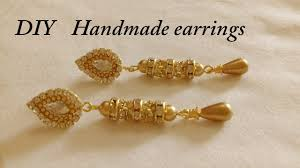 DIY || How To Make Designer Earrings At Home || DIY Simple And ... How To Make Pearl Bridal Necklace With Silk Thread Jhumkas Quiled Paper Jhumka Indian Earrings Diy 36 Fun Jewelry Ideas Projects For Teens To Make Pearls Designer Jewellery Simple Yet Elegant Saree Kuchu Design At Home How Designer Earrings Home Simple And Double Coloured 3 Step Jhumkas In A Very Easy Silk Earring Bridal Art Creativity 128 Jhumka Multi Coloured Pom Poms Earring Making Jewellery Owl Holder Diy Frame With