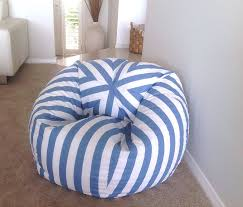 Bean Bag Coastal Blue And White Stripes Bean Bag Cover ... Bfg Fniture Nautical Sofa Set Outdoor Rattan Teardrop Bean Bag Jaydensonofsmithco Furnished Spacious Living Room Beanbag Chairs Football Oversized Bean Bag Chair Pin On Chairs Amazoncom Lounger Garden Giant Squid Pattern Print Design 01 Coastal Blue And White Stripes Cover West Elm X Pbteen Collection Is Modern Perfect For Small Pupsik Dream Dimpled Pillow Bamboo Slate Anchor Grizzshop By
