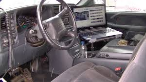 Laptop Computer Truck Mount Hold Downs