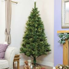 Christmas Tree 7ft by Artificial Christmas Trees Pre Lit Fibre Optic U0026 Pe Trees At