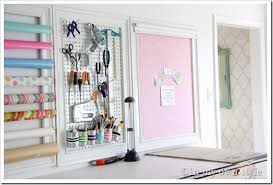 Craft Room Organzing Ideas