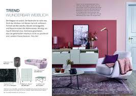 broschüre inspiration wohnen schöner wohnen kollektion