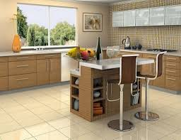 Movable Kitchen Island With Seating — Randy Gregory Design 12