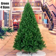 4 Sizes New Arrival Green Christmas Tree Iron Feet Pine Placed In The Desktop