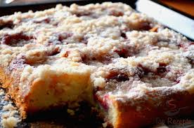 schneller pflaumenkuchen mit streuseln