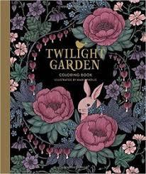 Twilight Garden Coloring Book Published In Sweden As Blomstermandala