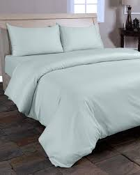 Bed Cover Sets by Duck Egg Blue Organic Cotton Duvet Cover Set 400 Thread Count