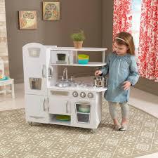 cuisine kidkraft vintage play kitchen white