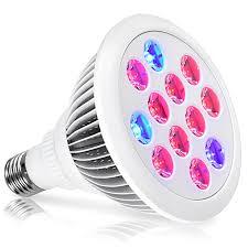 High Ceiling Light Bulb Changer Amazon by Amazon Com Led Grow Light Oak Leaf 24w Plant Bulb High