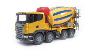 Bruder - 03554 | Construction: SCANIA R-Series Cement Mixer Truck ...
