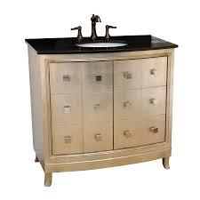 Single Sink Bathroom Vanity With Granite Top by Shop Bellaterra Home Silver Undermount Single Sink Bathroom Vanity