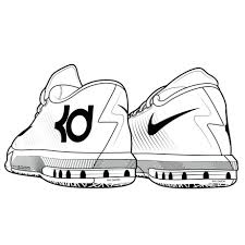 Coloring Pages Shoes Bryant Printable Free