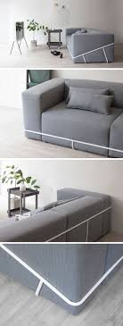 100 Modern Sofa Design Pictures A Simple Metal Frame Contains The Six Cushions That Make Up