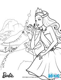 Barbie THE PRINCESS POPSTAR Coloring Pages For Princess And The Popstar Printable