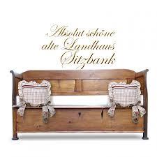 truhenbank antik sitztruhe küchenbank sitzbank landhausstil